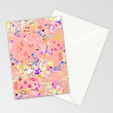 Soft bunnies pink Stationery Cards