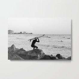 Surfer Metal Print