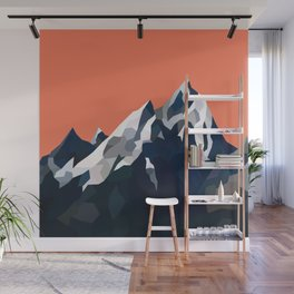 Geo Mountain Range (Part 1) Wall Mural
