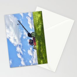 Summer Mowing Stationery Cards