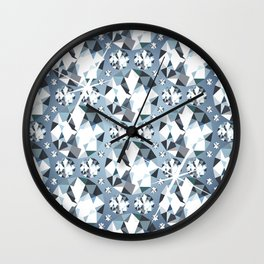 Diamonds are for Ever Wall Clock
