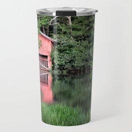 Mirror Lake House Travel Mug