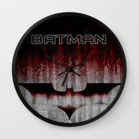dc Wall Clocks featuring Dc by Anand Brai