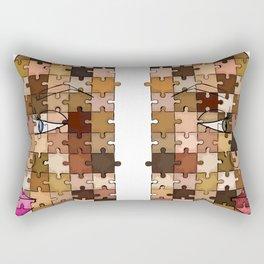 Melanin Piece Rectangular Pillow