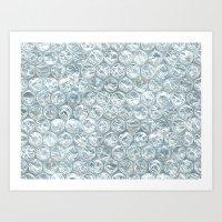 bubble wrap! Art Print