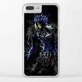Splatter Note Clear iPhone Case