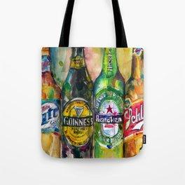 Miller Lite - Guinness- Heineken -Schlitz-Stella Artois Tote Bag