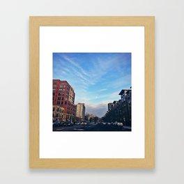 Arlington Cityscapes Framed Art Print