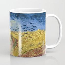 Vincent van Gogh's Wheatfield with Crows Coffee Mug