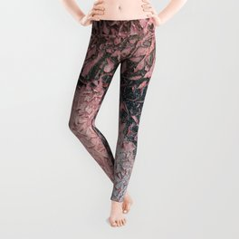 Abstract grange texture Leggings
