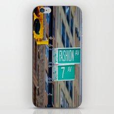 Fashion Avenue  iPhone & iPod Skin