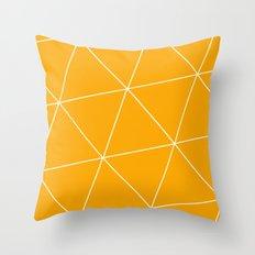 Pure Honey Throw Pillow