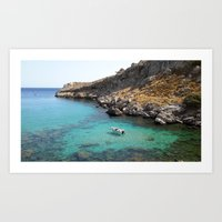 Summer in Greece Art Print