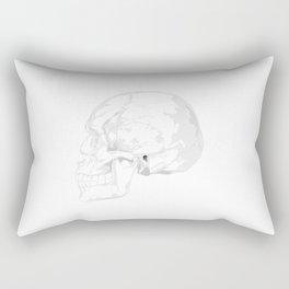 Skull vibes Rectangular Pillow