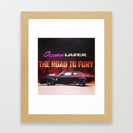 The Road To Fury (Album design) Framed Art Print