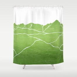 Colorado Mountain Ranges_Sneffels Shower Curtain