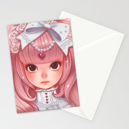 Lolita in my heart Stationery Cards