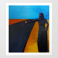Women & Freedom Art Print