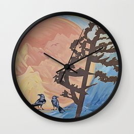 Rejoice; The Turning of the Sun Wall Clock