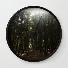 Magic Hour. Rushmere Country Park, Bedfordshire UK Wall Clock