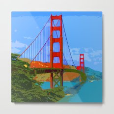 Golden Gate Bridge 009 Metal Print