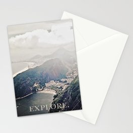 explore. Stationery Cards