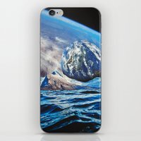 planets iPhone & iPod Skins featuring Planets by John Turck