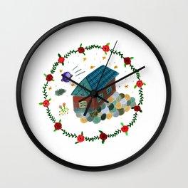 Their House Wall Clock