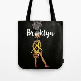 Brooklyn Glasses (in black) Tote Bag
