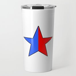 Flag of Paris 1 Travel Mug