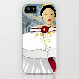 Hispanic Heritage Series - Central America - Panamanian Dancer iPhone Case