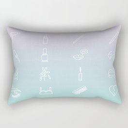Girls Just Wanna Have Fun Rectangular Pillow