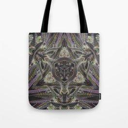 Purple Black Lime #2 Tote Bag