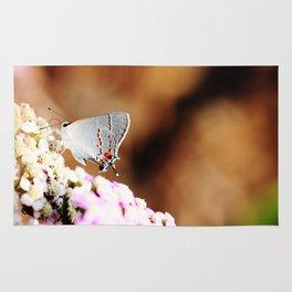 Gray Hairstreak Butterfly Rug