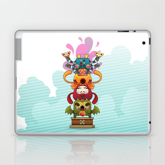 Monster´s Totem Laptop & iPad Skin