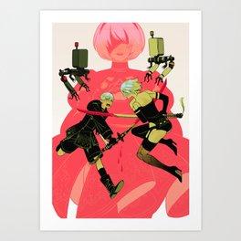 Nier Art Print