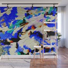 Humming Bird Blues Wall Mural