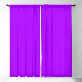Modern neon purple trendy colors Blackout Curtain