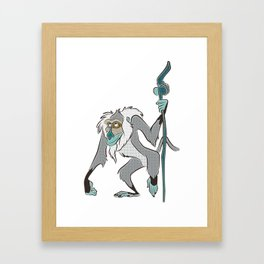 RAFIKI Framed Art Print