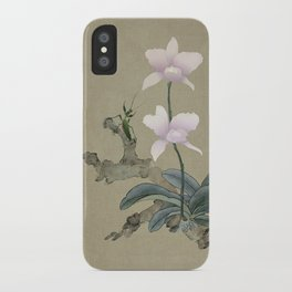 Orchid and Mantis iPhone Case