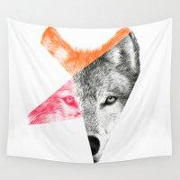 eric fan Wall Tapestries featuring Wild by Eric Fan & Garima Dhawan by Garima Dhawan