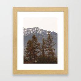 Swiss Autumn Framed Art Print