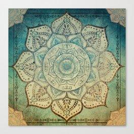 Faded Bohemian Mandala Canvas Print
