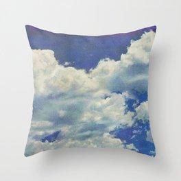 CLOUDY SKY Throw Pillow
