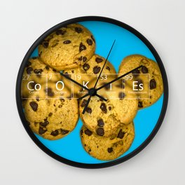 Element Cookies Wall Clock