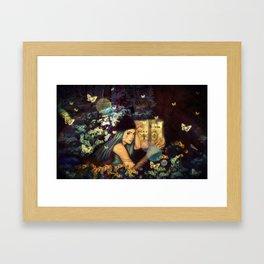 The Gardens (Poka)  Framed Art Print