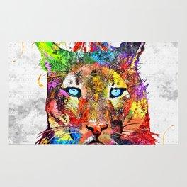 Puma Watercolor Grunge Rug