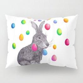 Rainbowrabbit Pillow Sham
