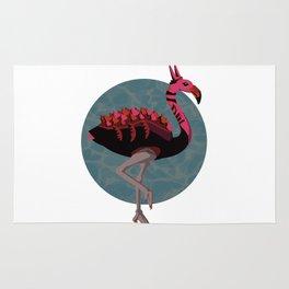 Dino-Flamingo Rug