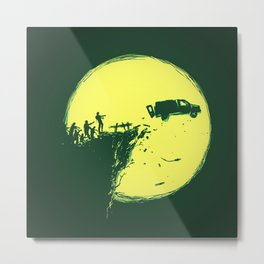 Zombie Invasion Metal Print